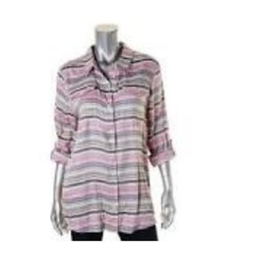 Tommy Hilfiger Women's Striped NWT Size Large